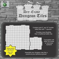 Dry Erase Dungeon Tiles - Multipack (21)