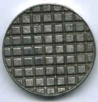 "1"" Round Base - Plain Sewer #1"