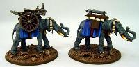 Elephant Gatling Train