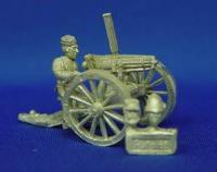 Colt Gatling Gun w/Crewman