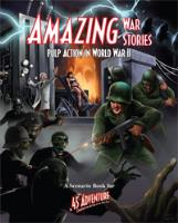 Amazing War Stories - Pulp Action in World War II