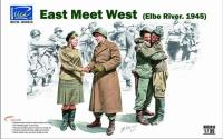 """East Meets West"" - Elbe River 1945"