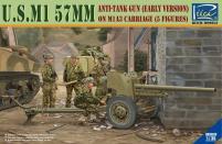 U.S. M1 57mm Anti-Tank Fun (Early Version) on M1A3 Carriage