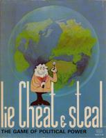 Lie, Cheat & Steal - The Game of Political Power (Bookcase Size Box)