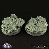 40mm SF Fortress Ruins Round Bases