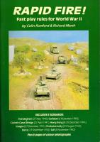 Rapid Fire! - Fast Play Rules for World War II (1st Edition)