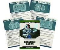 Sci-Fi Setting - Location Cards