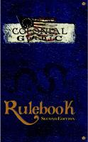 Colonial Gothic (2nd Edition)