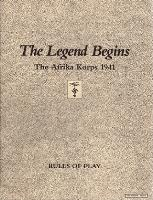 Legend Begins, The - The Afrika Korps 1941 (2nd Edition)