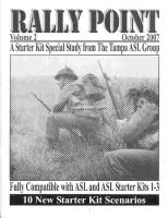 Rally Point Volume #2 - ASL Starter Kit Special Study