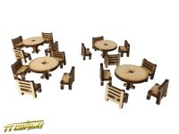 Tables and Chairs Set