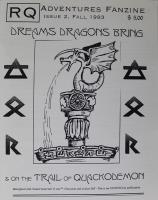 "#2 ""Dreams Dragons Bring, On the Trail of Quackodemon"""