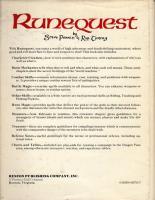 RuneQuest (2nd Edition) (Reston Publishing Edition)