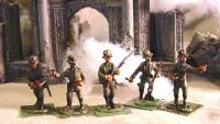 1916 German Infantry - Officers, Guard, & Grenadier Set (28mm)