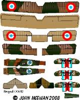 Breguet 14B2 Decal Set (1:144)