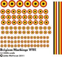 Belgium Markings (1:144)