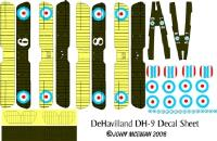 DH-9 Decal Set (1:144)
