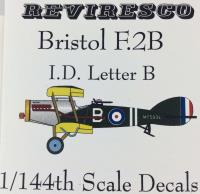 Bristol F.2B Decal Set - I.D. Letter B (1:144)