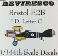 Bristol F.2B Decal Set - I.D. Letter C (1:144)