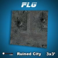 3' x 3' - Ruined City