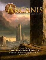 Codex Geographica Vol. 1 - Cradle of Empires, The Blessed Lands (2nd Printing)