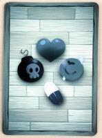 Binding of Isaac, The - Holographic Promo Card, Dice Shard