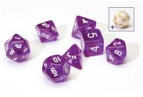 Transparent Purple w/White (8)