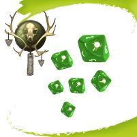 Army Dice - Ashral Orcs (10)