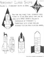 Merchant Class Ships Volume #1