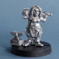 Elinda Hammerforge - Dwarf Blacksmith