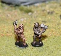 Bear Warriors w/Axes