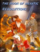 Book of Drastic Resolutions, The #1 - Volume Chaos