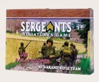 Army Paratrooper - M1 Garand Rifle Team