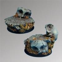 Ancient Ruins - 40mm Round Bases #2