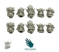 Heads - Freebooters Orcs, Version 2