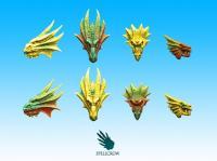 Icons - Salamanders or Dragons
