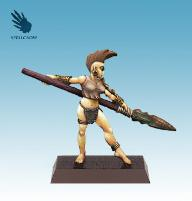 Female Wood Elf w/Spear