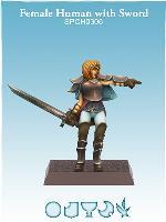Female Human w/Sword