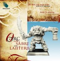Orc w/Sabre & Lantern
