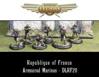 Armored Marines Infantry Section