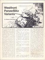 PanzerBlitz - Westfront Variants (Reprint Edition)