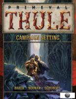 Primeval Thule Campaign Setting (13th Age Edition)