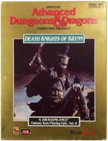 """Death Knights of Krynn (PC 3 1/2"""")"""