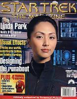 """#35 """"Linda Park, Technical Briefings - Scotty, Klingon Culture, Delta Flyer"""""""