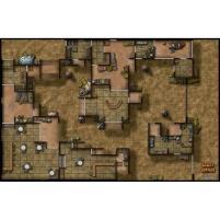 Double-Sided Map - Desert Outpost/Cliffside Citadel