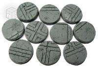 25mm Beveled Bases - Ruined Temple