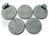 40mm Beveled Bases #1 - Ruined Temple