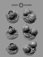 25mm Objective Markers - Alien Invasion