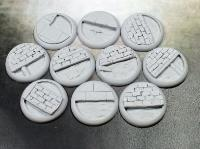 30mm Round Lip Bases - Sewer Works
