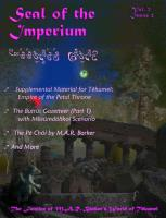 Seal of the Imperium Vol. 2, #2
